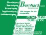 Anzeige Bernhard