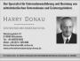 Anzeige Harry Donau