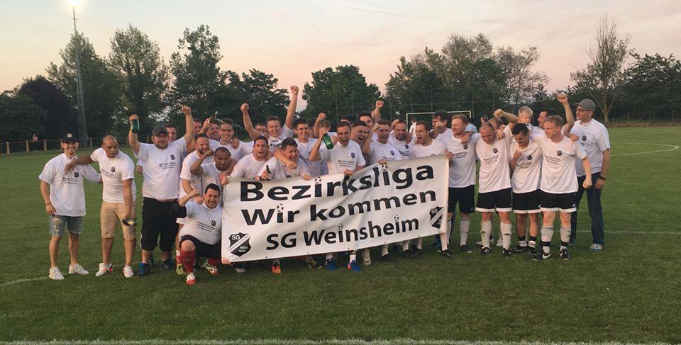 best service 32066 22f23 Bezirksliga wir kommen!   SG Weinsheim 1905/1920