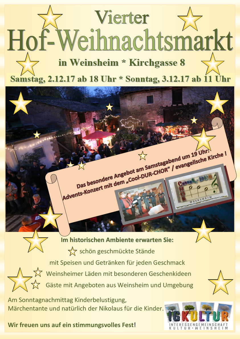 Weihnachtsmarkt mit Ständen der SG am 2. und 3. Dezember | SG ...